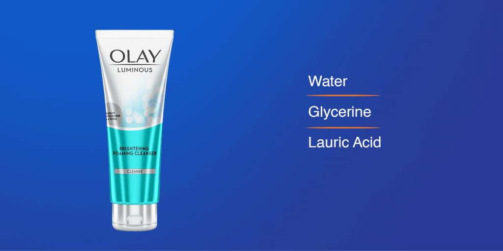 Olay Face Wash for glowing skin