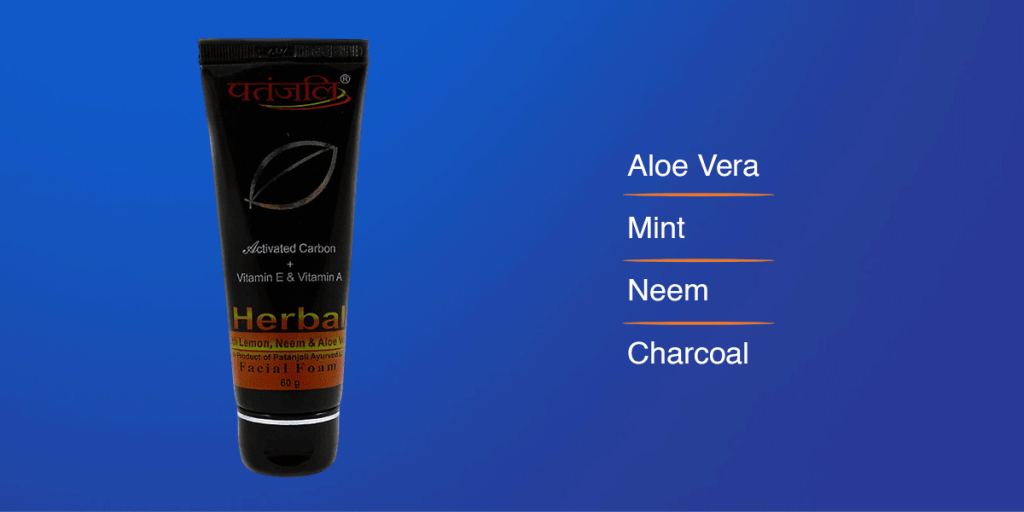 Patanjali Charcoal Face Wash
