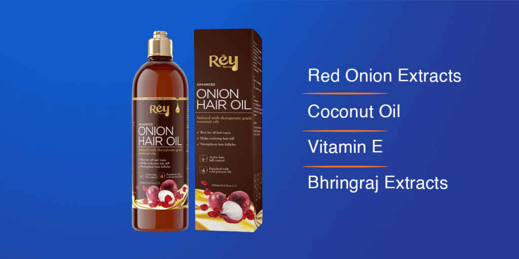 Rey Naturals Onion Hair Oil