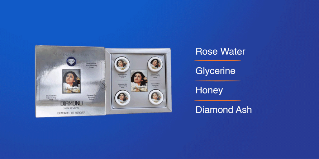 Shahnaz Husain Diamond Facial Kit for men