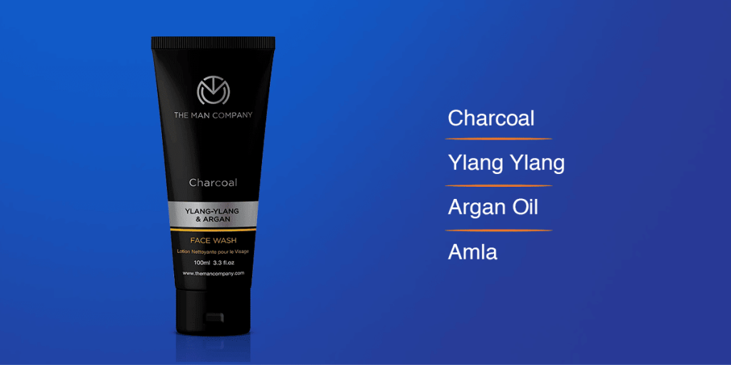 The Man Company Charcoal Face Wash