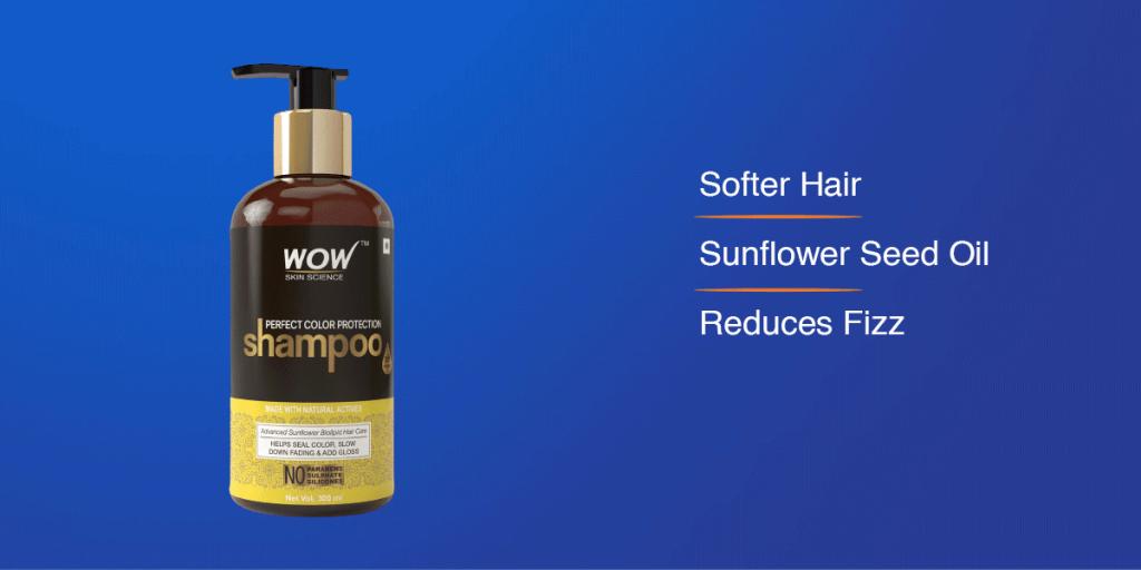 WOW Skin Science shampoo for coloured hair