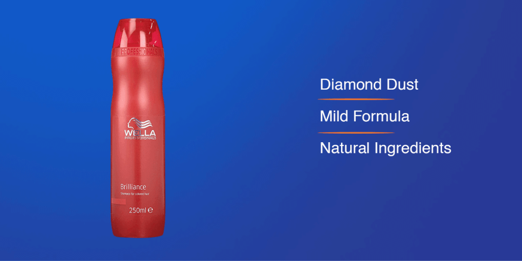 Wella Professionals Brilliance Shampoo for Colored Hair