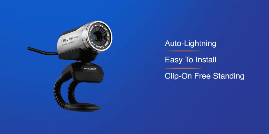 AUSDOM 1080P HD Webcam Camera