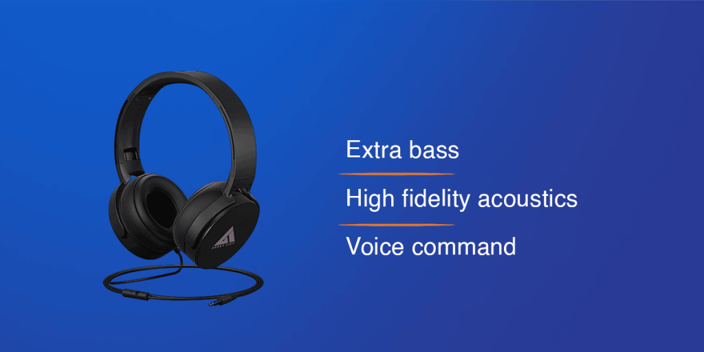 Boult Audio Bass Headphones