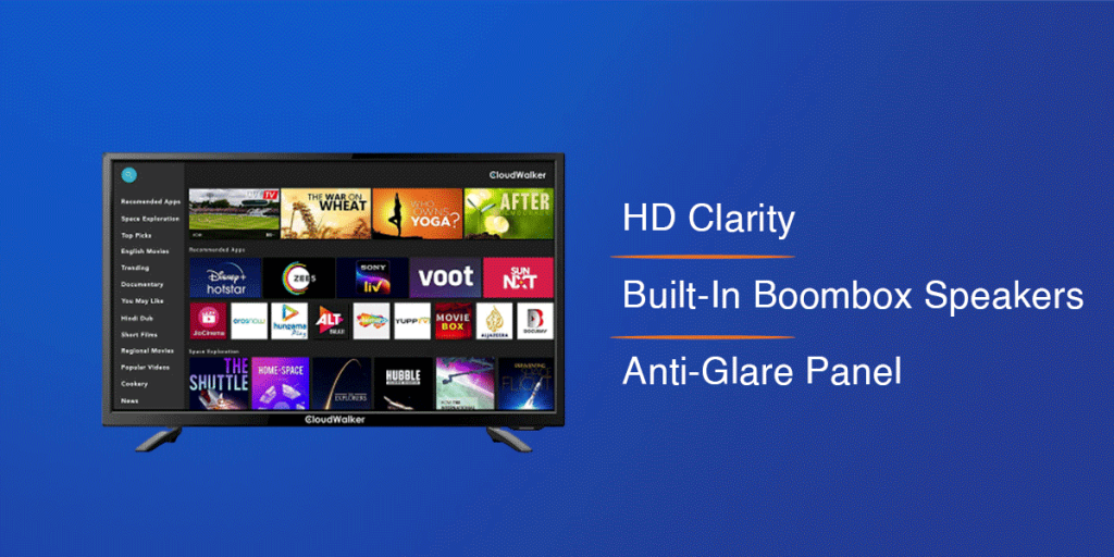 CloudWalker HD Smart LED TV