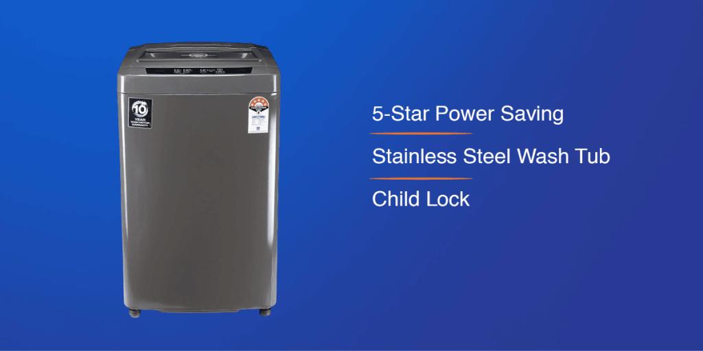 Godrej 6.5 Kg Fully-Automatic Top Loading Washing Machine