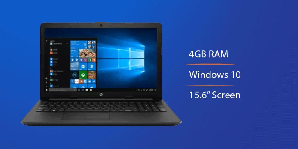 HP 15s Ryzen 3 Budget Laptop