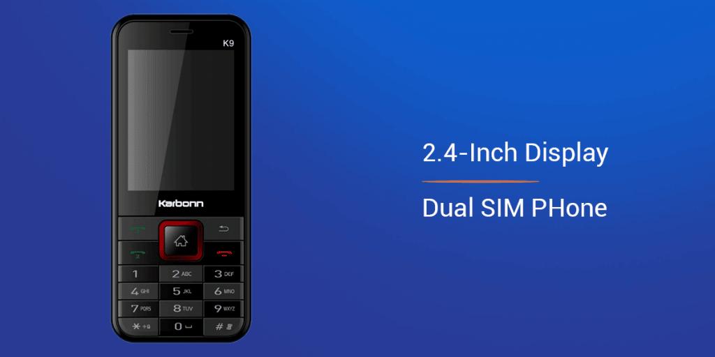 Karbonn K9 4G Mobile Phone under 5000