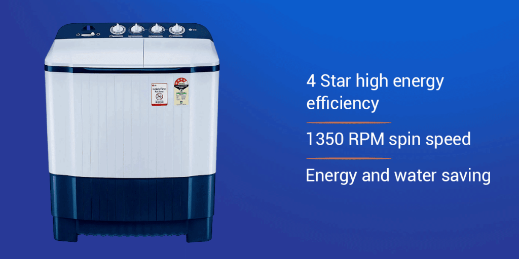 LG 6.5 KG 4 Star Semi-Automatic Washing Machine