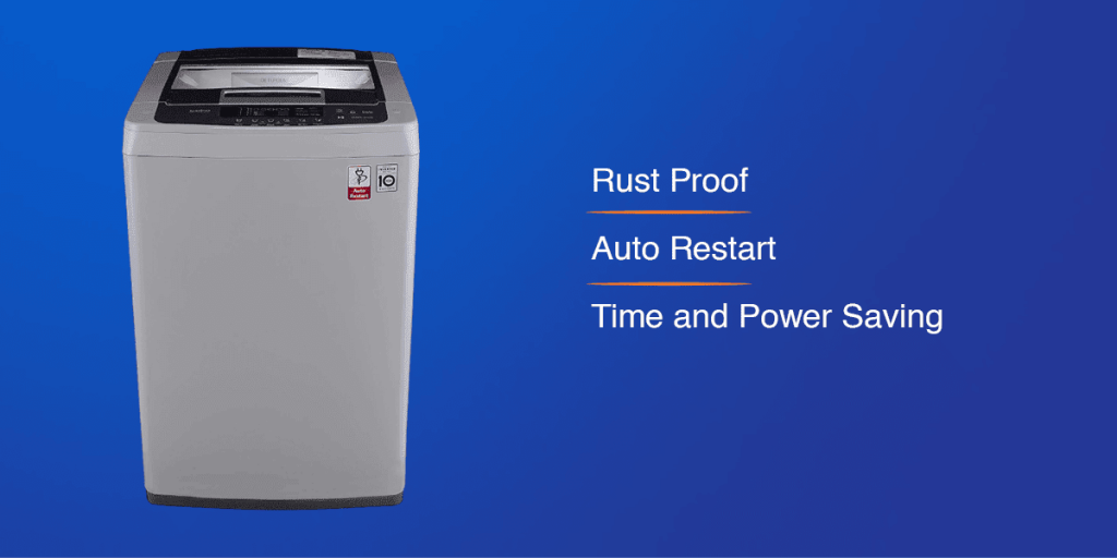LG 6.5 kg Inverter Fully-Automatic Washing Machine