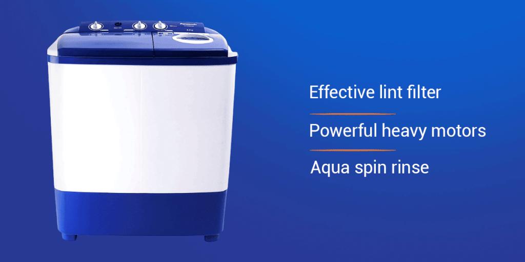 Panasonic 6.5 kg 5 Star Semi-Automatic Washing Machine