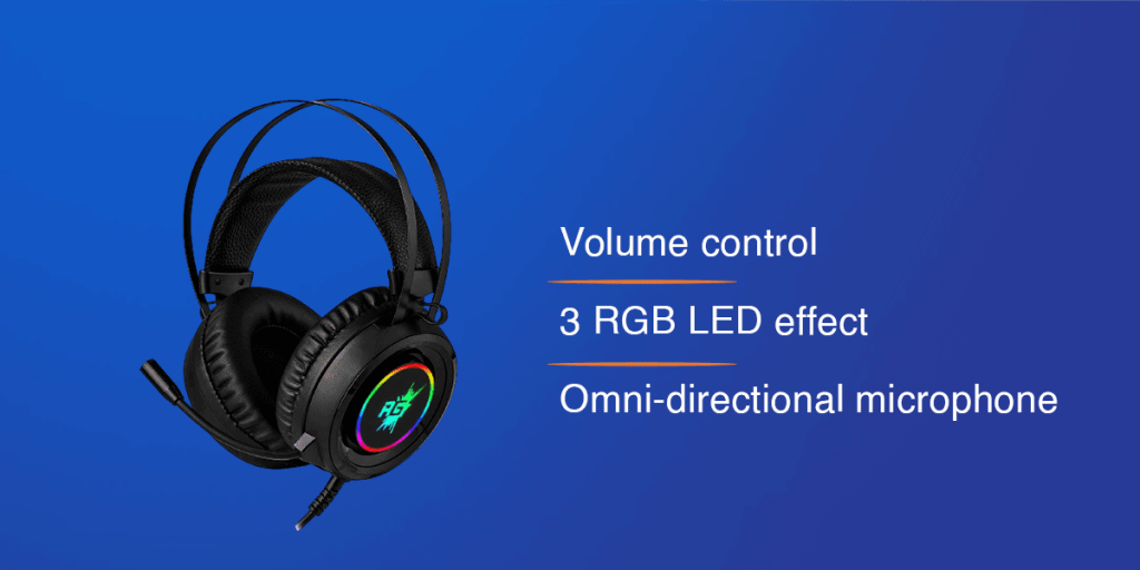 Redgear Cloak Wired RGB Headphones