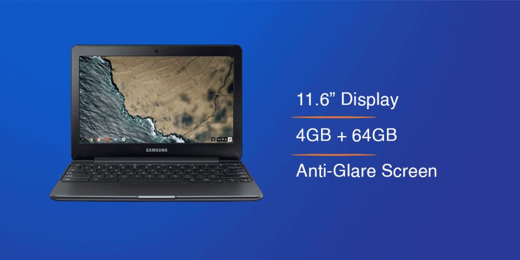 Samsung Touchscreen Chromebook 3