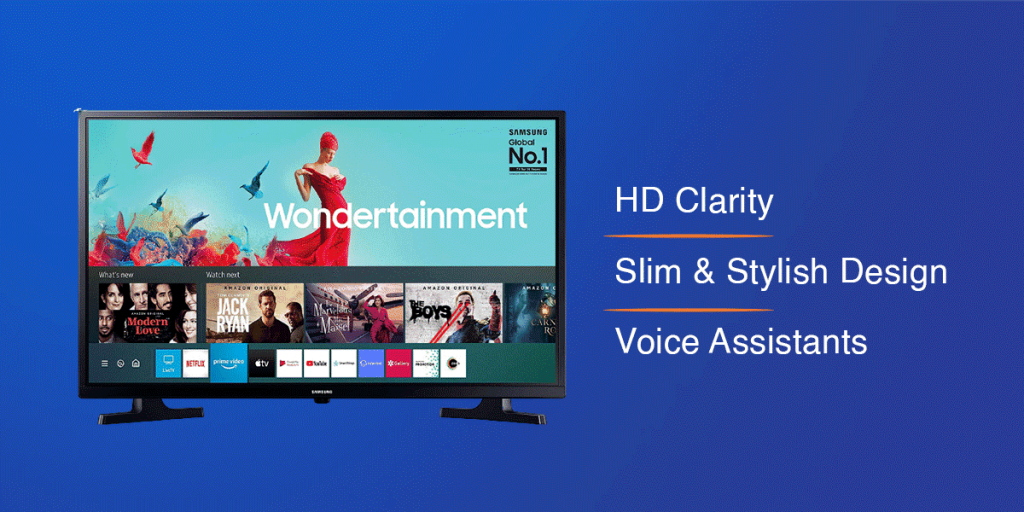 Samsung Wondertainment LED Smart TV
