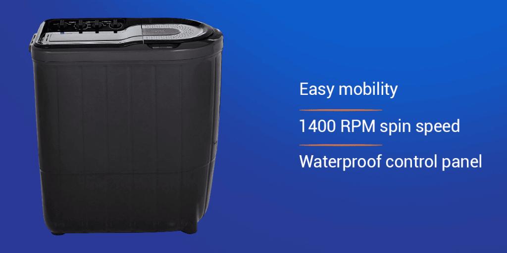 Whirlpool 7 Kg 5 Star Semi-Automatic Washing Machine