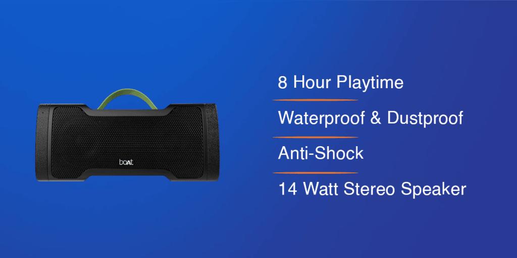 boAt Stone 1000 Portable Wireless Speaker