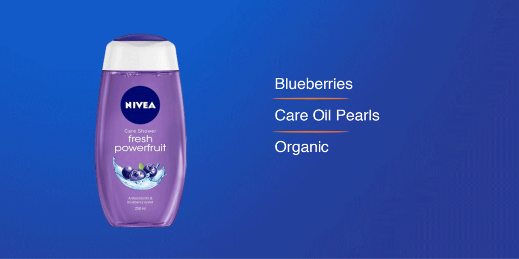 Nivea Fresh Powerfruit Shower Gel