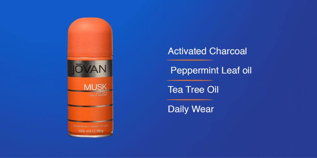 Jovan Musk Body Spray