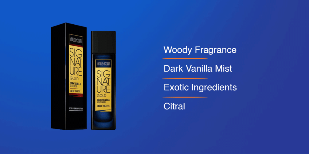 AXE Signature Gold Dark Vanilla and Oud Wood