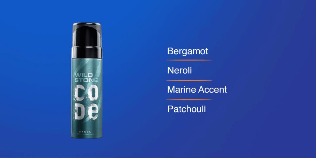Wild Stone Steel Perfume Body Spray