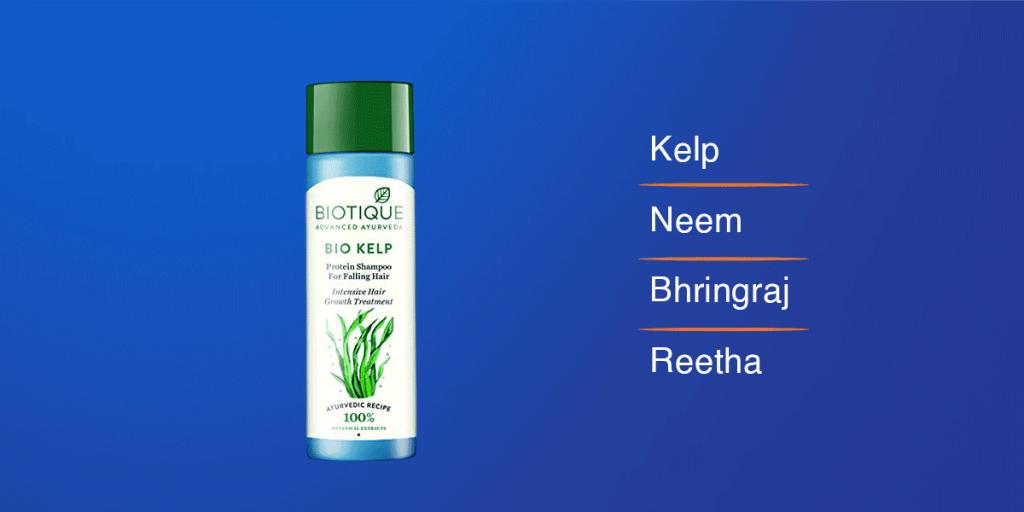Biotique Bio Kelp Fresh Hair Growth Shampoo