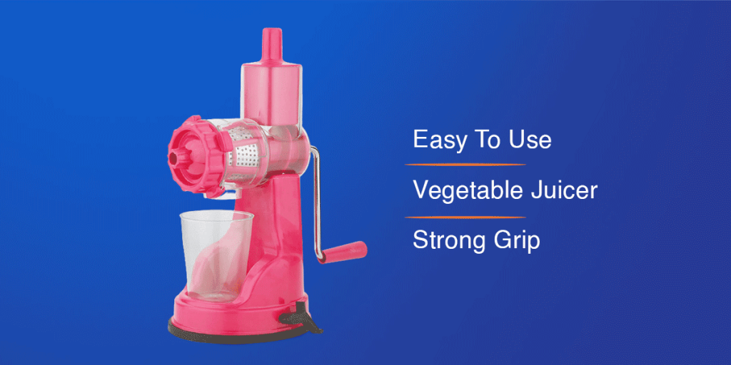 Bluewhale Fruit And Vegetable Juicer