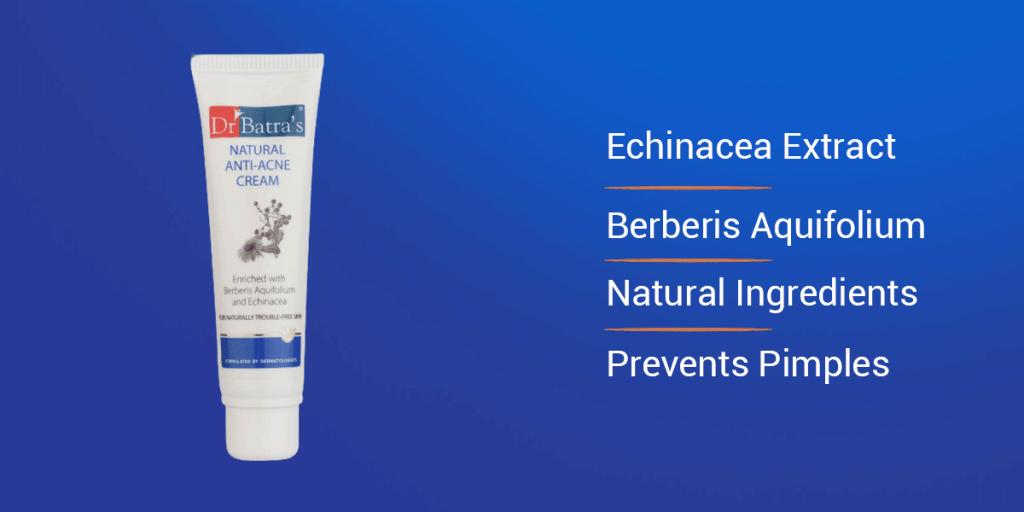 Dr. Batra's Natural Anti Acne Cream