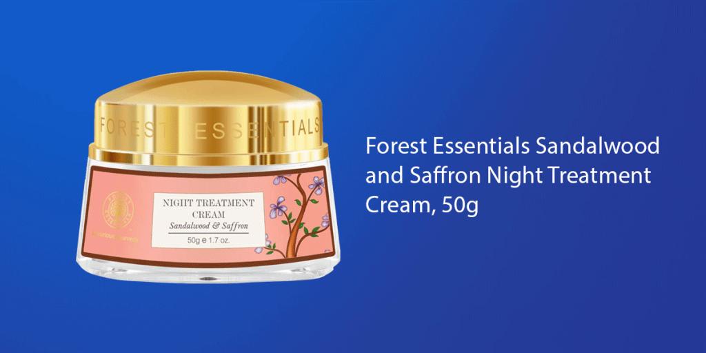 Forest Essentials Men Sandalwood & Orange Peel Night Treatment