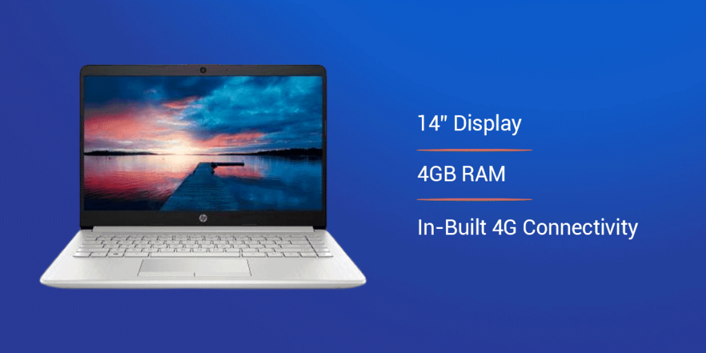 HP 14s Core i3 10th Generation Laptop