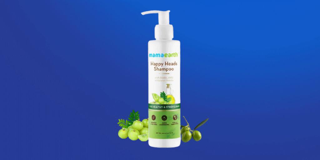 Mamaearth Happy Heads Shampoo for Healthy &Stronger Hair Shampoo