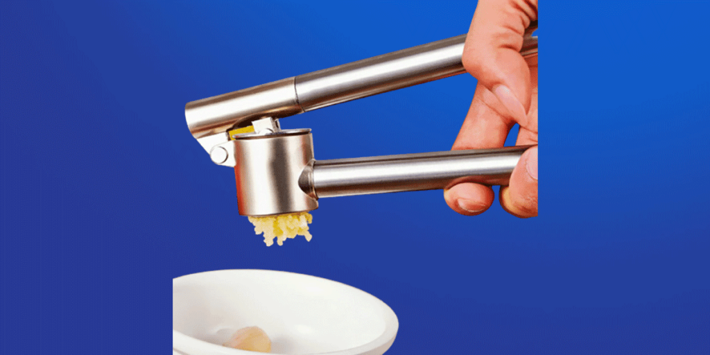 Garlic Crusher & Mincer