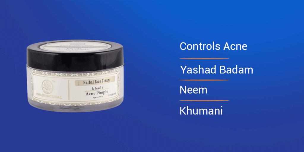 Khadi Natural Anti Pimple Cream