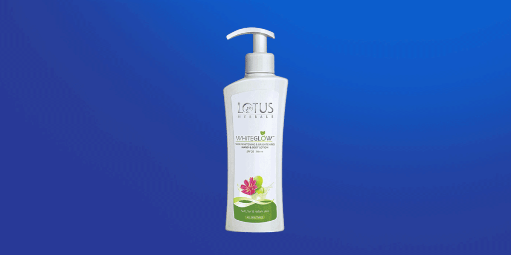 Lotus Herbals White Glow Skin Whitening and Brightening Hand and Body Lotion
