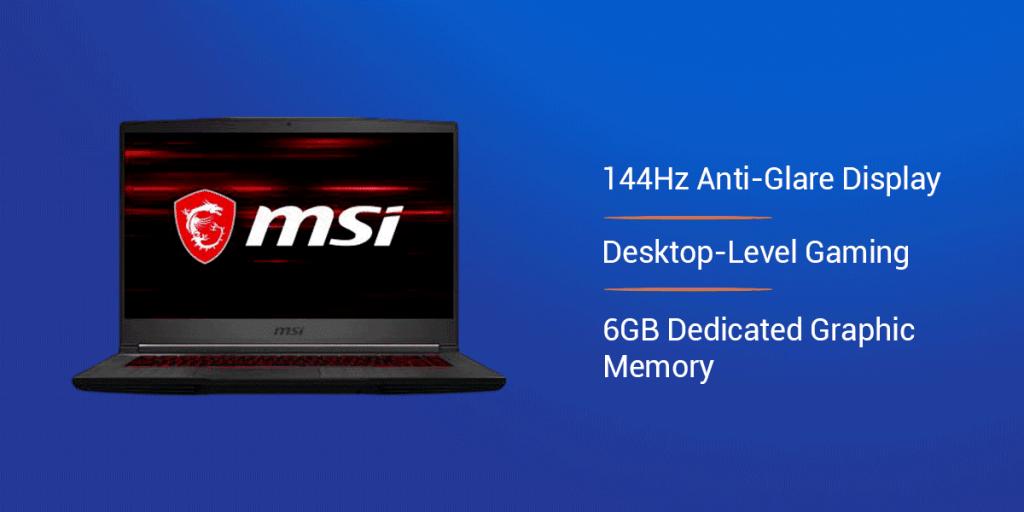 MSI GF65 Thin 9SD-1042IN