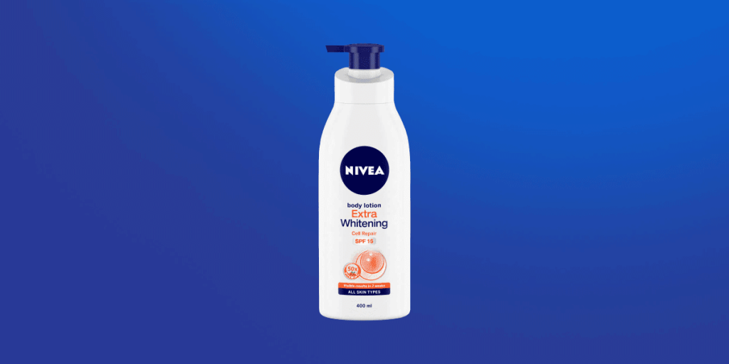 Nivea Extra Whitening Cell Repair &U V Protect Body Lotion