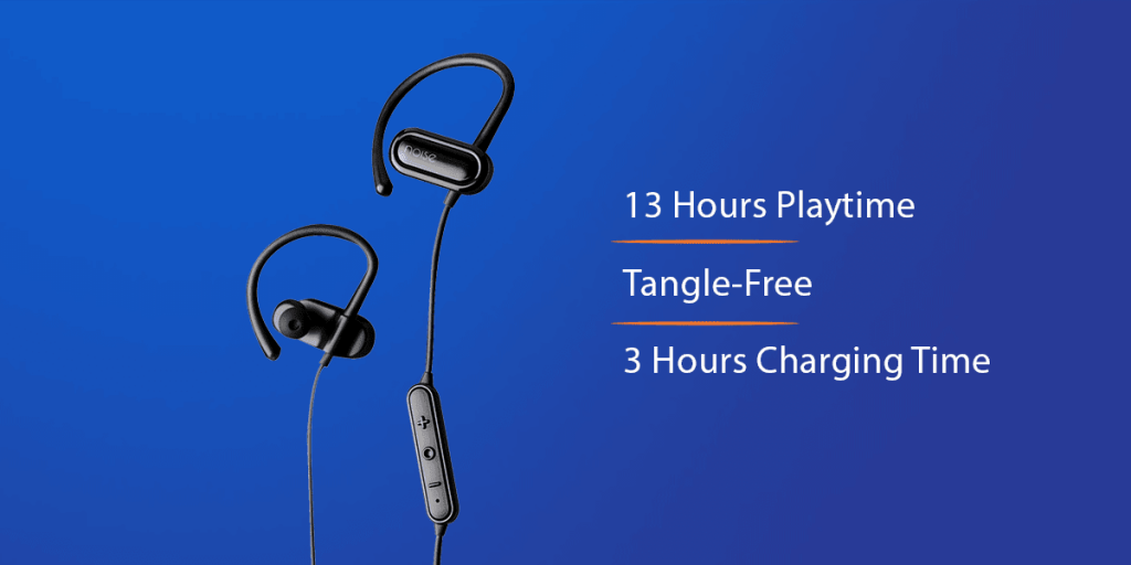 Noise Fizz Sports Wireless Bluetooth in-Ear Earbuds