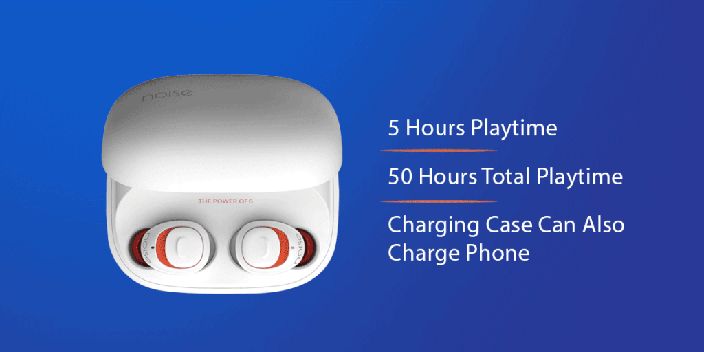 Noise Shots X5 Charge True Wireless Earbuds