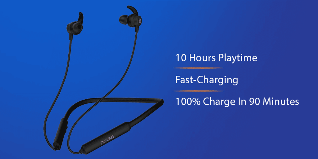 Noise Tune Active Bluetooth Neckband Earbuds