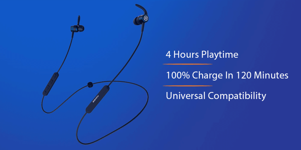 Noise Tune Sport Bluetooth Neckband Earbuds