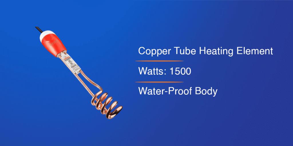 Nova ISI Mark Immersion Water Heater Rod