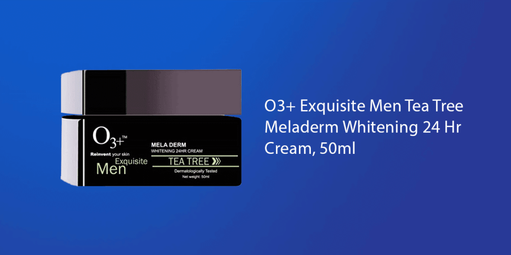 O3+ Exquisite Men Tea Tree Cream