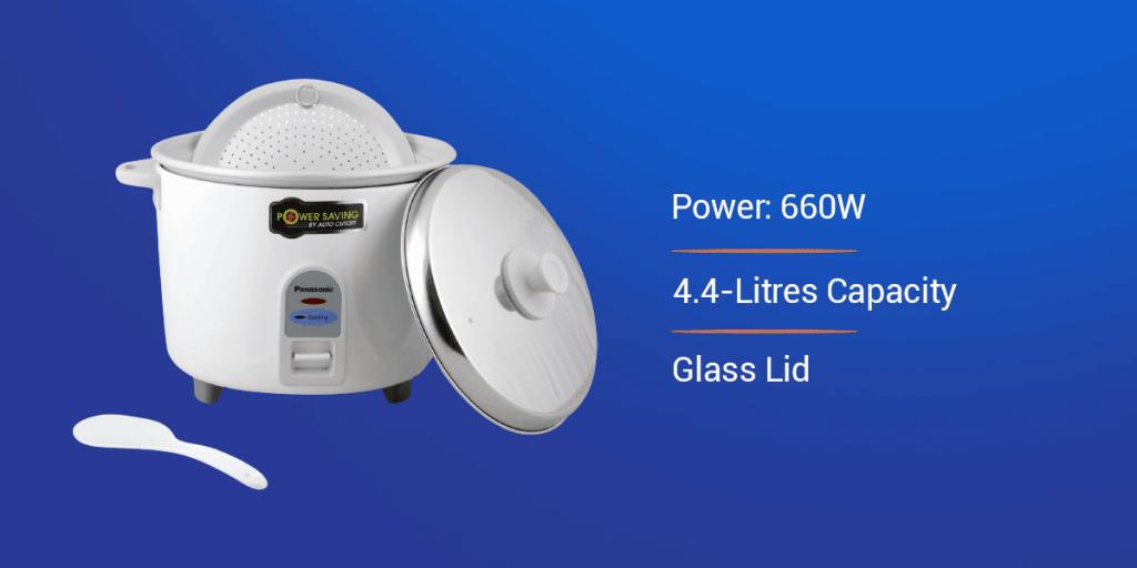 Panasonic SR-WA 19 4.4-Litre Electric Rice Cooker