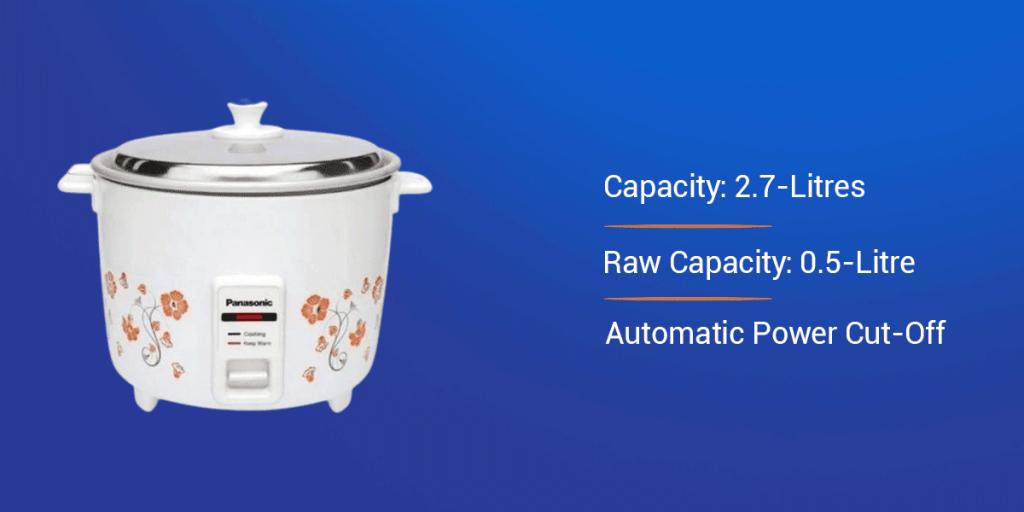 Panasonic SR-WA10 Automatic Electric Rice Cooker