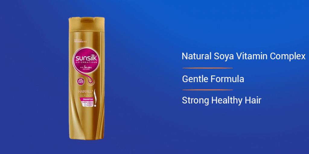 Sunsilk Golden Hairfall Solution Shampoo