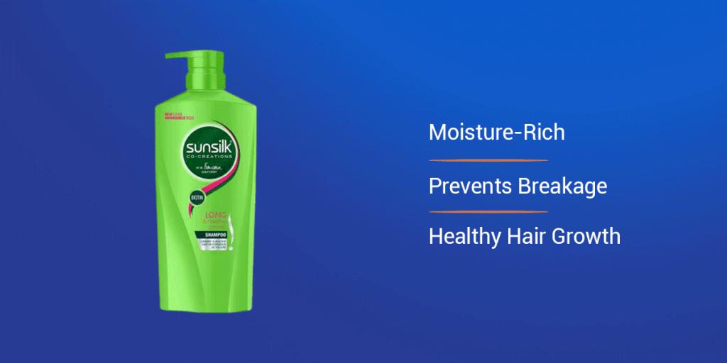 Sunsilk Green Long and Healthy Shampoo