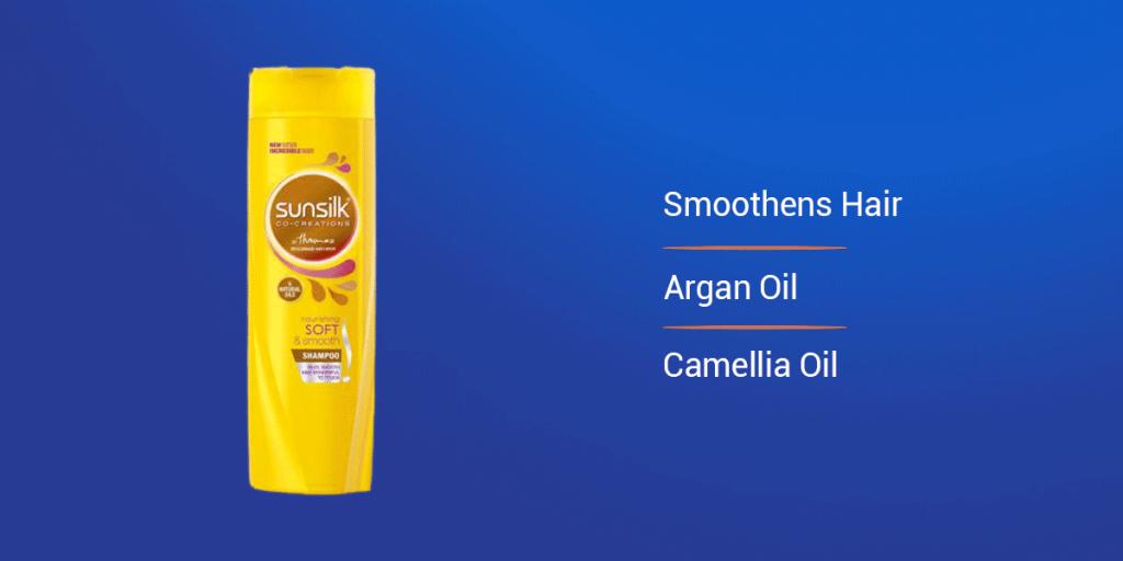 Sunsilk Yellow Soft and Smooth Shampoo