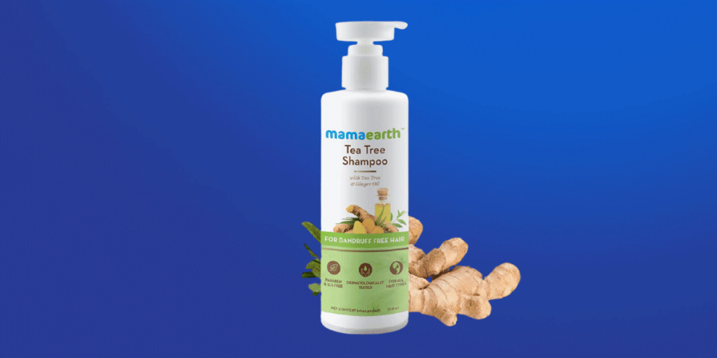 Mamaearth Tea Tree Shampoo for Dandruff