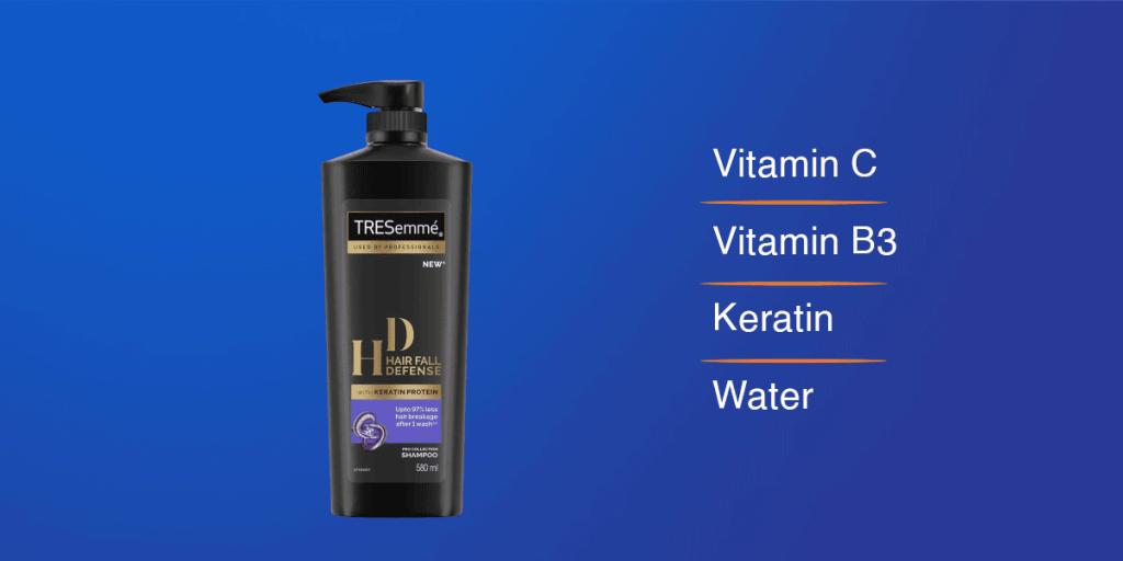 Tresemme Hair Fall Defense Shampoo