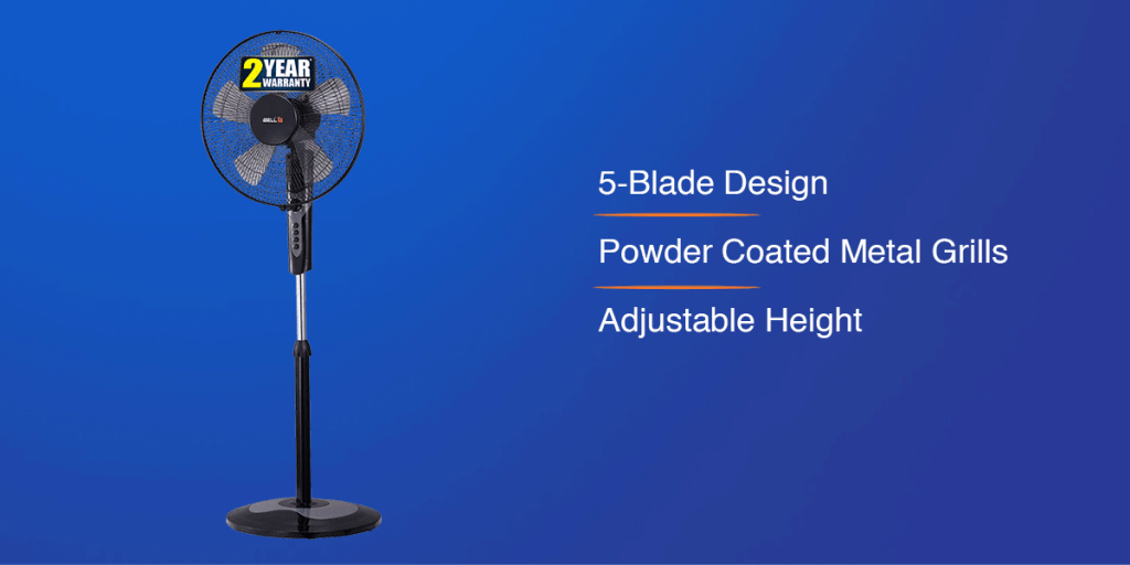 iBELL CHROME10 Pedestal Fan